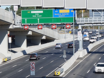 Inner City Bypass Upgrade Brisbane City Council