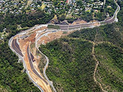Toowoomba Range Cut Batter Remediation Transport and Main Roads, QLD